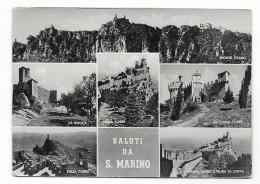 SALUTI DA SAN MARINO VEDUTE  VIAGGIATA FG - San Marino