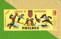 BUVARD : Couque De Bourgogne PHILBEE L'ours Ourson  Sportif - Gingerbread