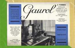 BUVARD : Pharmacie GAUROL Laboratoire Pepin - Produits Pharmaceutiques