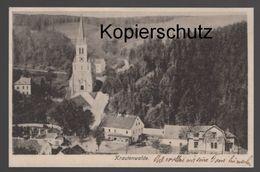 ALTE POSTKARTE KRAUTENWALDE Travna Krutvald Cpa AK Ansichtskarte Postcard - Sudeten