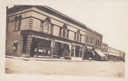 Thornton Mercantile Store, First National Bank, Liberty Bonds Signs In Window, Unknown Town C1900s Vintage Postcard - Photographs