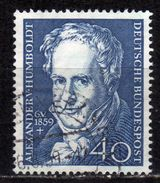 BRD 1959 - MiNr: 309 Naturforscher Humboldt  Used - Gebraucht