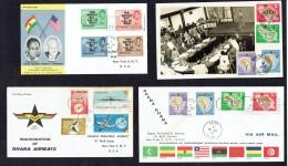 13 Early Ghana FDCs - Ghana (1957-...)