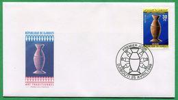 DJIBOUTI ENVELOPPE PREMIER JOUR FDC 1998 Michel Mi 661 HEDHO- RARE - Djibouti (1977-...)