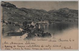 Rivaz - Saint-Saphorin - Photo: Jullien Freres No. 1856 - VD Vaud