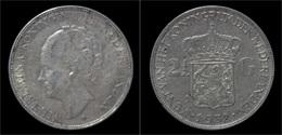 Netherlands Wilhelmina I 2 1/2 Gulden(rijksdaalder)1932 - [ 8] Monedas En Oro Y Plata