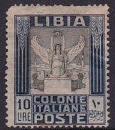 Italy-Colonies And Territories-Libya S 32 1921 ,Pictorials, 10 Lira Victory,mint No Gum - Libya