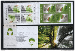Bulgaria / Bulgarie – 2016 Europa – Think Green   BOOKLET – MNH - Europa-CEPT