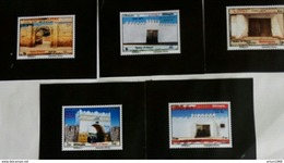 Ethiopia Ethiopie Äthiopien NEW ISSUE 23.08.2017 Complete Set Of 5 MNH / ** Gates Of Harar - Äthiopien