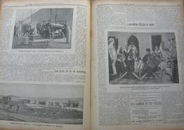 JOURNAL MILITAIRE 1904N°27:MAROC INSTRUCTION PUBLIQUE/MACEDOINE/FORT LAMY/BIZERTE/ RADEAU-SAC/PRUSSE ECOLE DE TIR DE JUT - Journaux - Quotidiens