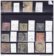 JAPON, LOT DE 11 TIMBRES CLASSIQUES COTE ENORME, QUELQUES TIMBRES AVEC DEFAUT.  (3JA1) - Collections, Lots & Series