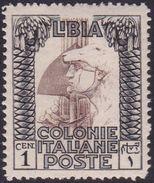 Italy-Colonies And Territories-Libya S 44 1924 ,Pictorials,1c Roman Legionary,Mint Never Hinged - Libya