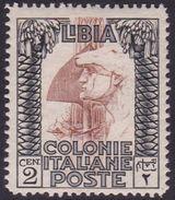 Italy-Colonies And Territories-Libya S 45 1924-29 ,Pictorials,2c Roman Legionary,Mint Never Hinged - Libya