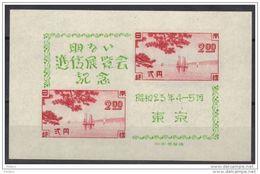 JAPON Y&T BL 22 ** MNH. (OTJ9) - Blocks & Sheetlets