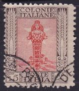 Italy-Colonies And Territories-Libya S 62 1926-30 ,Diana Of Ephesus,perf 11,15c,used - Libya