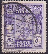 Italy-Colonies And Territories-Libya S 88 1930 4th Tripoli Fair,50c Used - Libya
