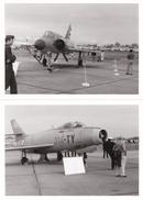 TOURS - Lot De 11 Clichés D'Avions Militaires Sur La Base Aérienne - Mirage, Mystère, Transall, Aérodrome - Voir Descrip - Tours