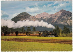 Zillertalbahn Mit Rofangebirge, Tirol - (Austria) - Trains