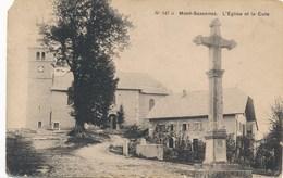 74) Mont-Saxonnex : L'église Et La Cure - France