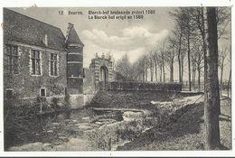 Deurne - Sterck-Hof Bestaande Zedert 1580 Prachtige Bezettingszegel Met Afstempeling Duitse Censuur Antwerpen 1916 - Antwerpen