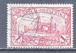 Germany East Africa 19  (o)  No Wmk. - Colony: German East Africa