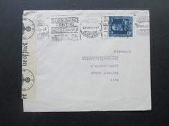 Rumänien 1940 Zensurpost Zensur Der Wehrmacht OKW Geöffnet. Bucuresti Gara De Nord - Berlin. - Covers & Documents