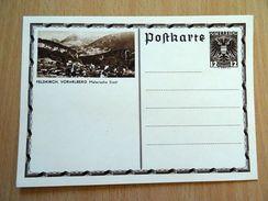 1936/37 - P 300 - BILDPOSTKARTE - FELDKIRCH - VORARLBERG - Ganzsachen