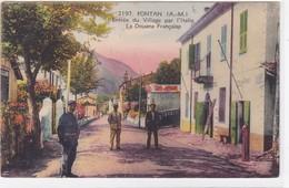 Alpes-Maritimes - Fontan - Entrée Du Village Par L'Italie - La Douane Française - Other Municipalities