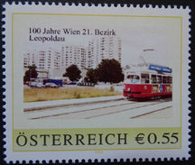 8002895 - PM - €-ZEICHEN - 100 JAHRE WIEN 21. BEZIRK - LEOPOLDAU - Postfrisch ** - Österreich