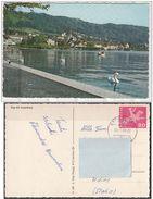 Svizzera  Zug Mit Zugerberg Lago Lac Lake Panorama - ZG Zoug