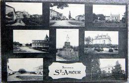 39 SAINT AMOUR VUE MULTIPLE CHATEAU PLACES MADONE - France