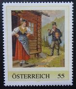 8020015 - PM - PERSONALISIERTE MARKE - POSTBOTE - POSTBÜCHEL - POSTBÜCHLEIN ** - Österreich