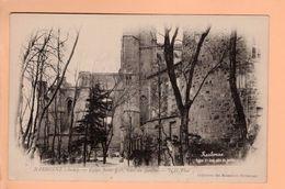 Cpa Carte Postale Ancienne - Narbonne Eglise Saint Just 9 - Narbonne