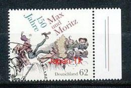 GERMANY Mi.Nr. 3146 150 Jahre Max Und Moritz - Used - BRD