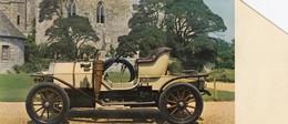 FICHE RALLY DES ANCETRES AUTOMOBILE  HUMBER 1909 - Publicités