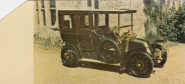 FICHE RALLY DES ANCETRES AUTOMOBILE  RENAULT 10  1906 - Publicités