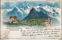Suisse   MANNLICHEN  OBERHALD KLEINEN  SCHEIDGG  BERNEROBERLAND - BE Berne