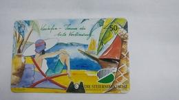 Austria-(f157)-die Steiermarkische-(704l)-tirage-5.010-used Card+1 Card Prepiad Free - Austria