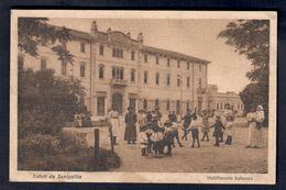 Saluti Da Senigallia Stabilimento Balneare Viaggiata 1921 Francobollo Asportato COD.C.1965 - Senigallia