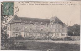 76  Les Terrasses Pres Le Treport  Le Golf-hotel  Au Parc Des Jeux  Pendant La Guerre, Hopital N° 10 Sous La Direction D - Le Treport
