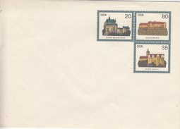 DU1**  Blanko Umschlag Mit 30+80+35 Pf  Burgen Der DDR - [6] Oost-Duitsland