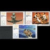 DDR 1980 - Scott# 2098-9+B190 Olympics Set Of 3 MNH - [6] République Démocratique