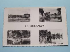La Plage Vue Sur Les Remparts ( Morelle-Triquoit ) Anno 1953 ( Zie Foto's ) ! - Le Quesnoy