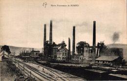 HAUTS FOURNEAUX DE POMPEY -54- - France