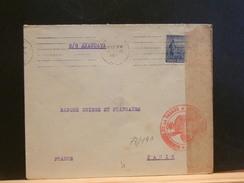 73/191    LETTRE TO PARIS  1915  FR. CENSOR S/S ARAGUAYA - Argentina