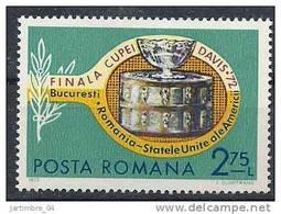 1972 ROUMANIE 2711** Tennis, Coupe Davis - 1948-.... Republics