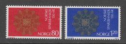 PAIRE NEUVE DE NORVEGE - 150E ANNIVERSAIRE DES CAISSES D'EPARGNE NORVEGIENNES N° Y&T 594/595 - Coins