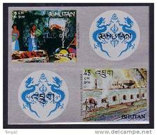Bhutan  Steel Foil S/S - Unusual Stamps - Bhutan
