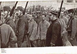 CPA N°8062 - PRIS ! TAKEN ! - PRISONNIERS ALLEMANDS - MILITARIA 14-18 - Guerre 1914-18