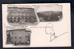 RICORDO DI CAMERINO VIAGGIATA 1905  COD.C.1970 - Italia